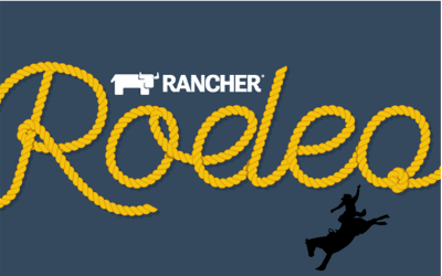 Save the date 10 12 2018 - Rancher Rodeo Meetup
